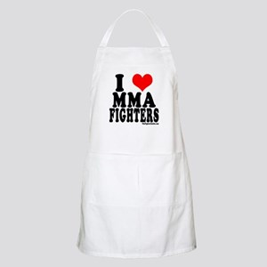I LOVE MMA FIGHTERS BBQ Apron
