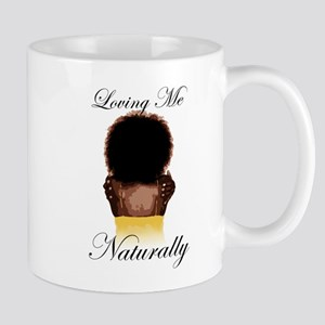 Loving Me Naturally Natural Afro Hug Mug