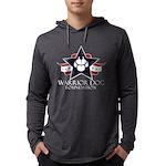 Tri-Logo Mens Hooded Shirt Long Sleeve T-Shirt