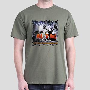 MAX'D OUT TV Dark T-Shirt