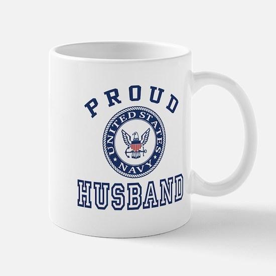 Proud US Navy Husband Mug
