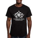 White Men's Fitted Logo T-Shirt