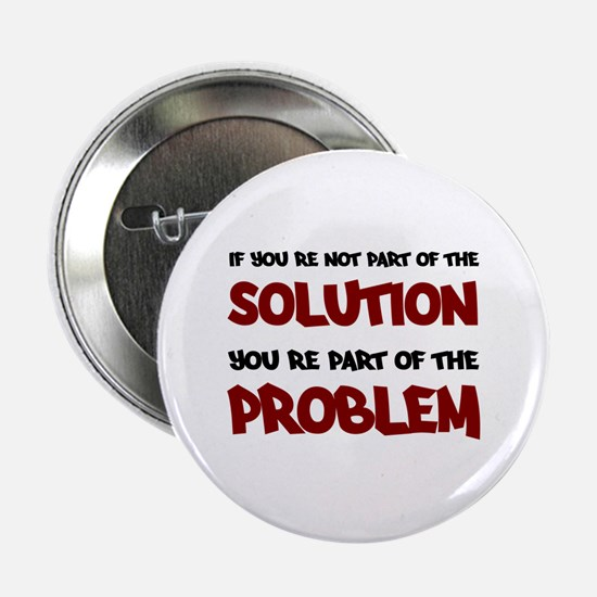 """Part of the Solution 2.25"""" Button"""