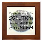 Part of the Solution Framed Tile
