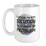 Part of the Solution Large Mug