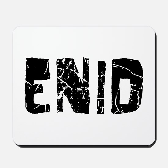 Enid Faded (Black) Mousepad