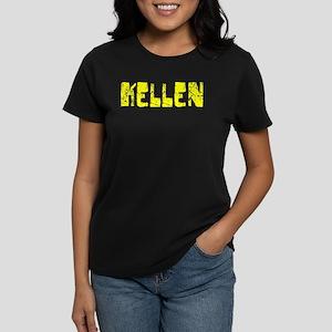Kellen Faded (Gold) Women's Dark T-Shirt