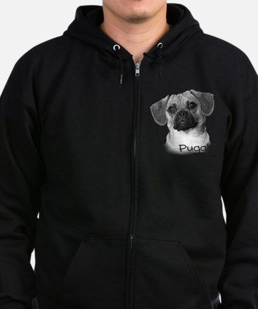 Perfect Puggle Portrait Sweatshirt