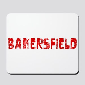 Bakersfield Faded (Red) Mousepad