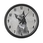 Giant Schnauzer Large Wall Clock