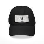Giant Schnauzer Black Cap with Patch