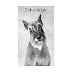 Giant Schnauzer Sticker (Rectangle 50 pk)