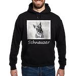 Giant Schnauzer Hoodie (dark)