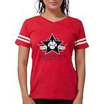 Tri Logo Womens Football Shirt Dark T-Shirt