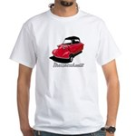 Red/Black Messerschmitt Deluxe2 White T-Shirt