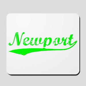 Vintage Newport (Green) Mousepad