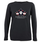 Tri Logo Plus Size Long Sleeve Tee T-Shirt