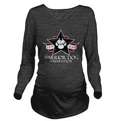Tri Logo Long Sleeve Maternity T-Shirt
