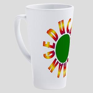 Educate, teach, change 17 oz Latte Mug