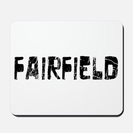 Fairfield Faded (Black) Mousepad