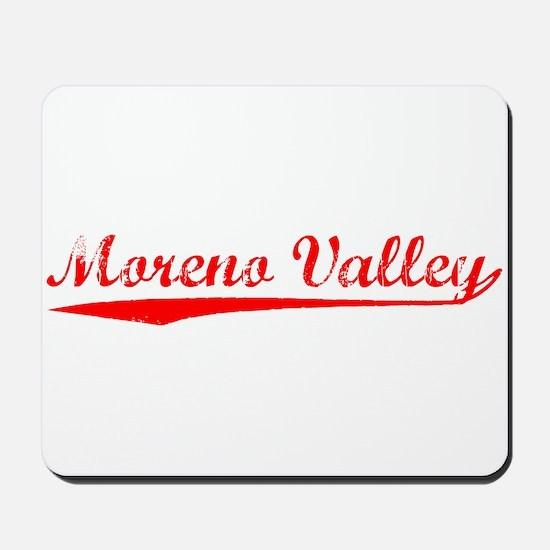 Vintage Moreno Val.. (Red) Mousepad