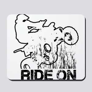 Ride On ATV Quad Mousepad