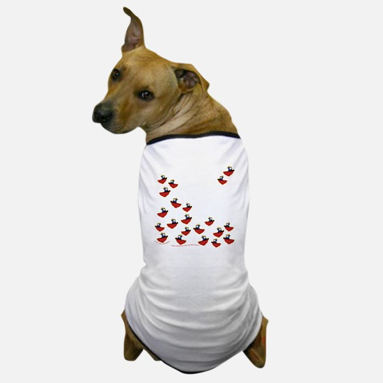 Teeny Tiny Tugboats Dog T-Shirt