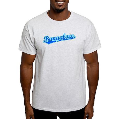 Retro Bangalore (Blue) Light T-Shirt