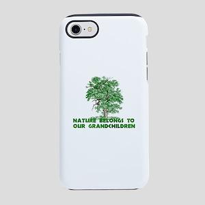 Nature Belongs to Grandchild iPhone 8/7 Tough Case