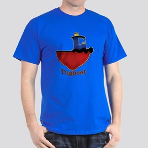 Cute Tugboat Picture Dark T-Shirt