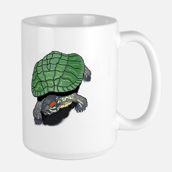 Red Eared Slider (Turtle) Large Mug