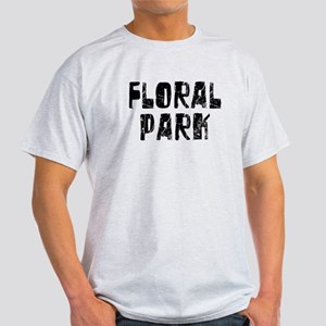 Floral Park Faded (Black) Light T-Shirt