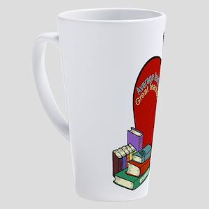 Teacher saying 17 oz Latte Mug