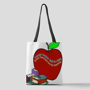Teacher saying Polyester Tote Bag