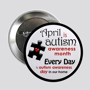 """April Every Day (K) 2.25"""" Button"""