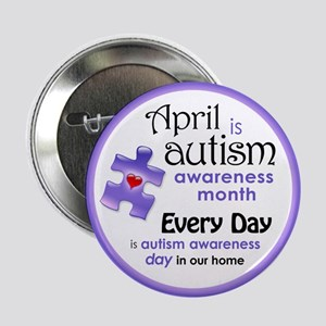 """April Every Day (Pl) 2.25"""" Button"""