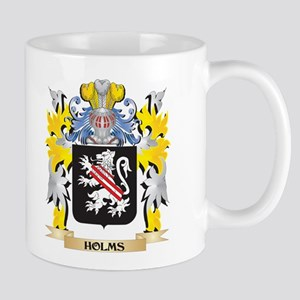 Holms Coat of Arms - Family Crest Mugs