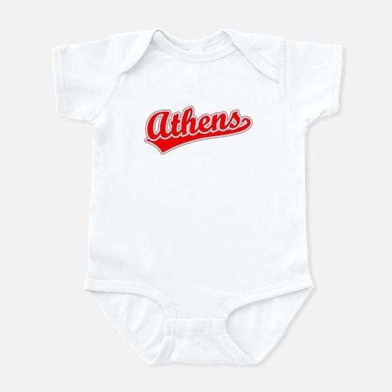 Retro Athens (Red) Infant Bodysuit