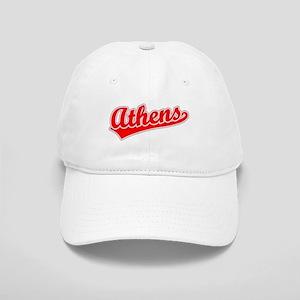 Retro Athens (Red) Cap