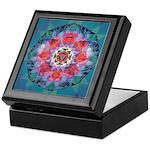 Tripur Bhairavi Yantra-mandala Keepsake Box