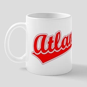 Retro Atlanta (Red) Mug