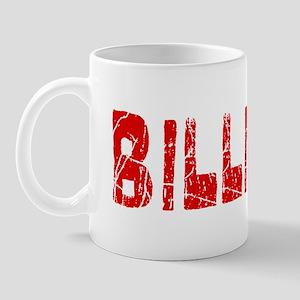 Billings Faded (Red) Mug