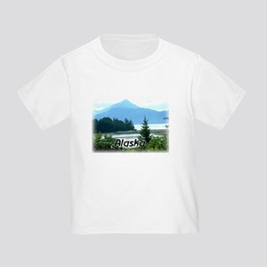 Alaska Scenic View Women's Dark T-Shirt