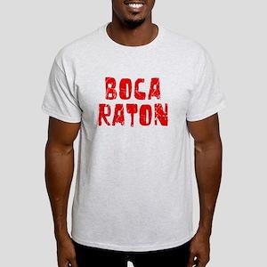 Boca Raton Faded (Red) Light T-Shirt