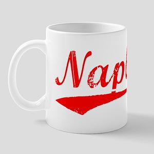 Vintage Naples (Red) Mug