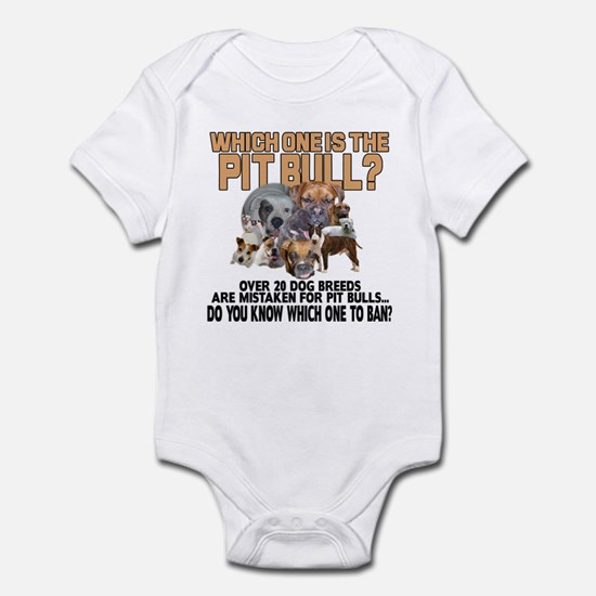 Find the Pit Bull Infant Bodysuit