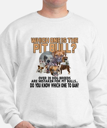 Find the Pit Bull Sweatshirt