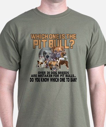Find the Pit Bull T-Shirt