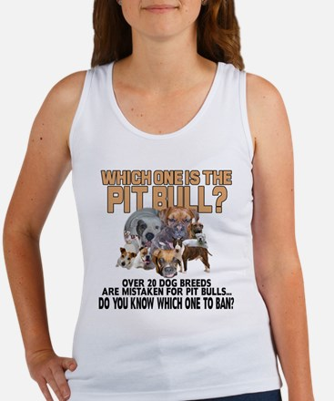 Find the Pit Bull Women's Tank Top