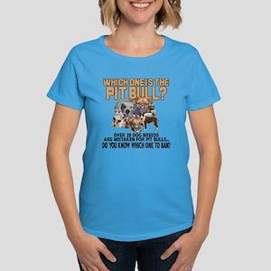 Find the Pit Bull Women's Dark T-Shirt